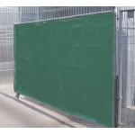 Sichtschutznetz winddurchlässig grün